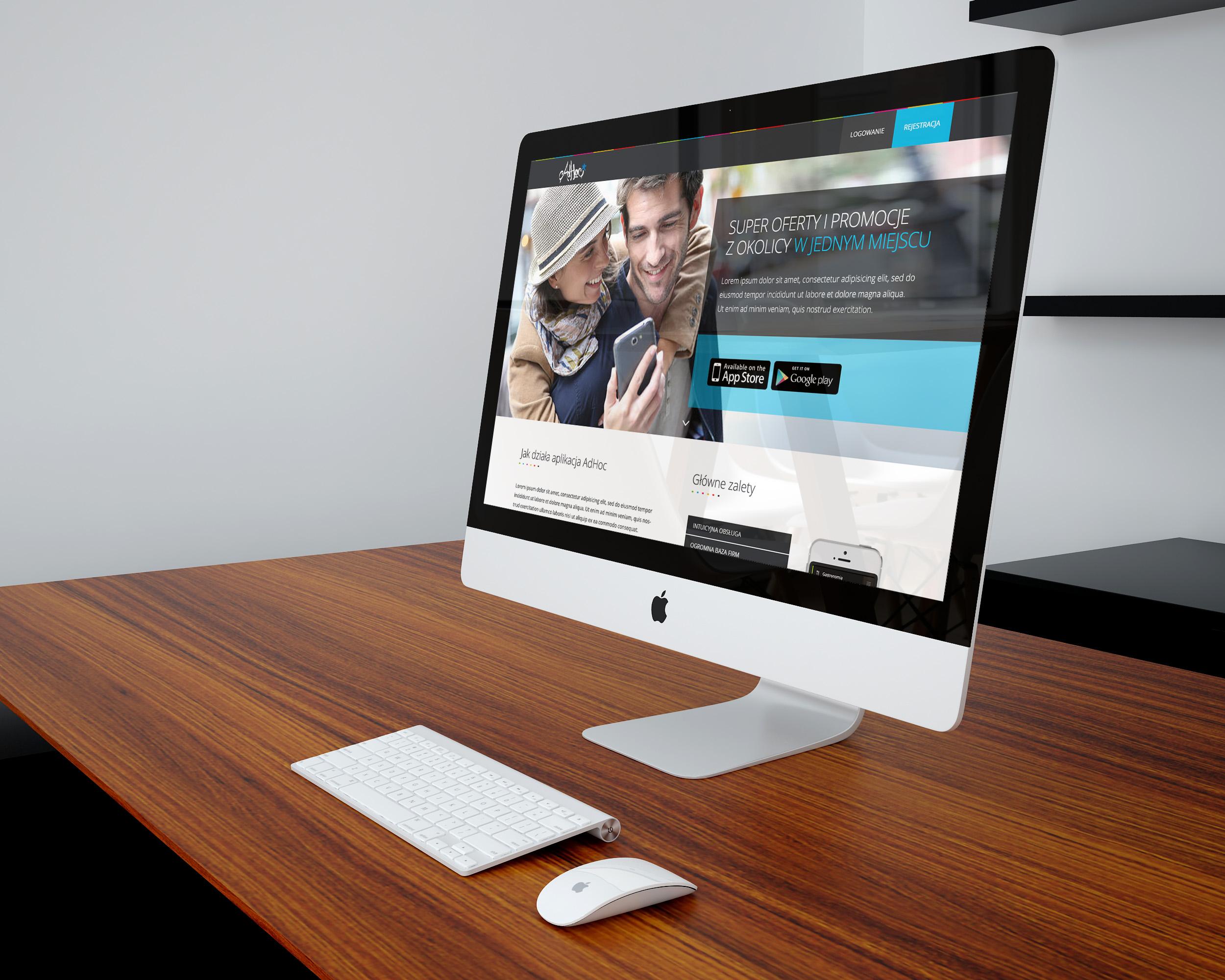 projekt graficzny strony internetowej