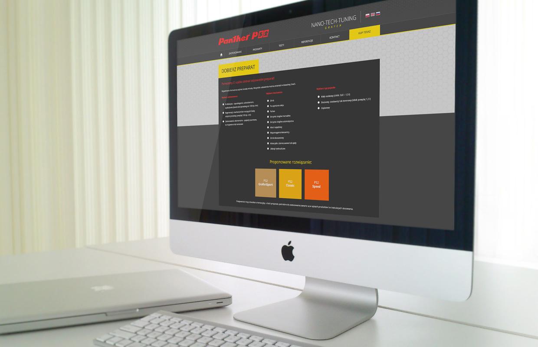 projekty graficzne stron www